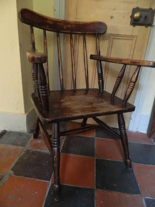 Primitive Windsor Chair : primitive rocking chair - Cheerinfomania.Com